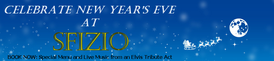 Celebrate New Year's Eve at Sfizio